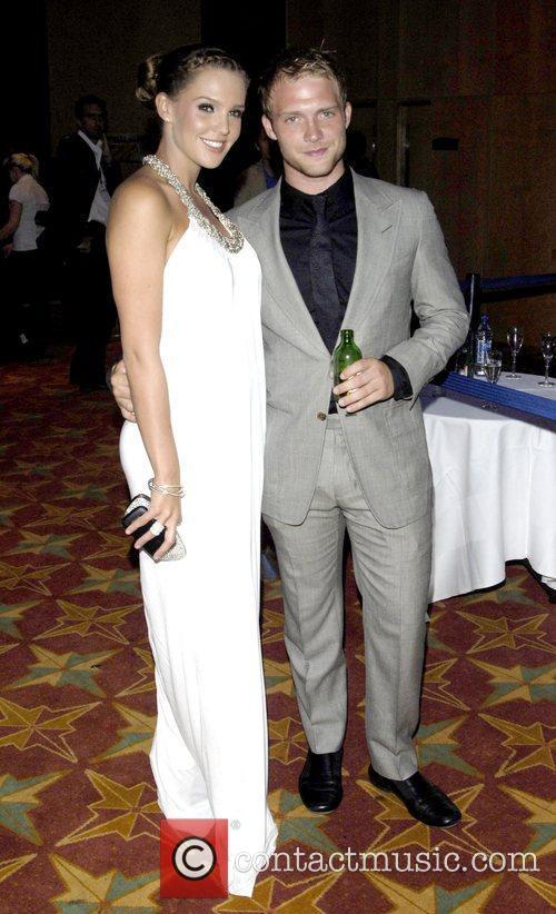 Danielle Lloyd and Chris Fountain Miss England 2009...