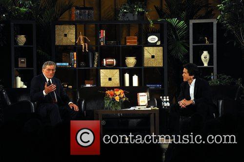 Tony Bennett and Mitch Albom Mitch Albom launches...