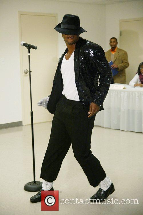 Contestant Michael Jackson Talent Contest auditions sponsored by...