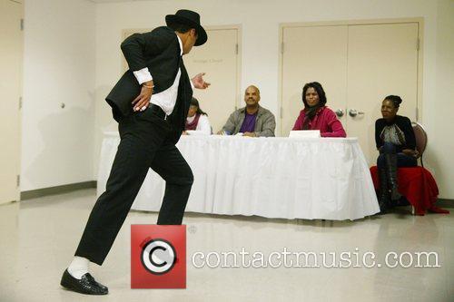 Fabian Love, Omarosa Manigault-Stallworth and Justin Love Michael...