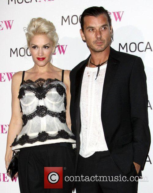 Gwen Stefani and Gavin Rossdale MOCA New 30th...