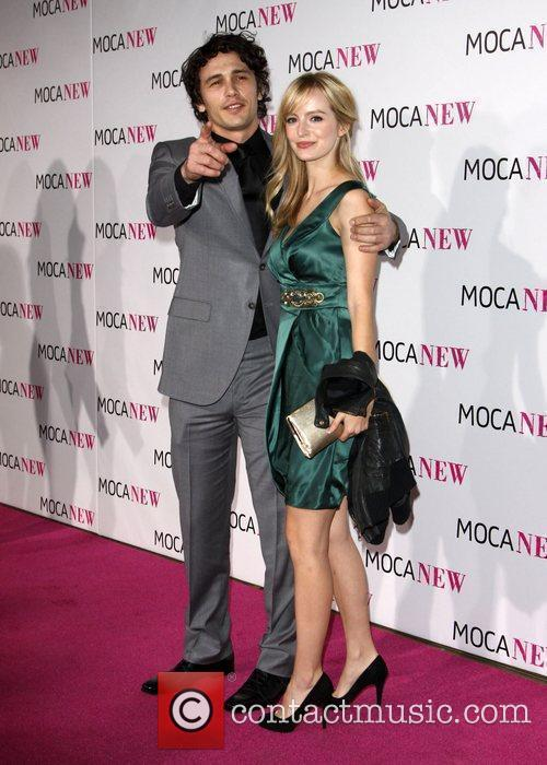 James Franco and Ahna O'reilly 2