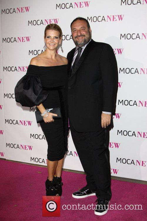 Joel Silver with wife Karen Silver MOCA New...