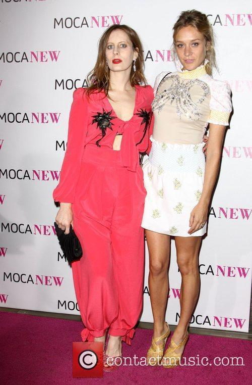 Liz Goldwyn and Chloe Sevigny MOCA New 30th...
