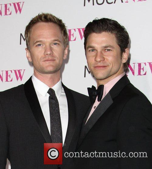 Neil Patrick Harris and David Burtka MOCA New...