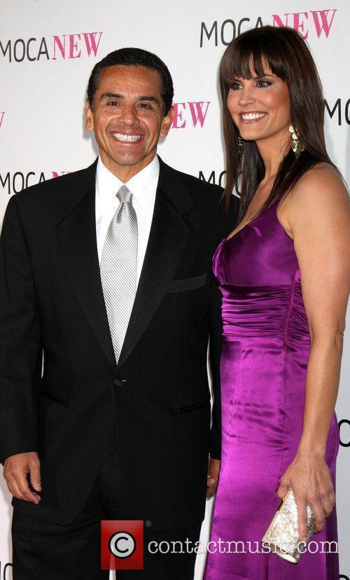 Antonio Villaraigosa & Lu Parker MOCA NEW 30th...
