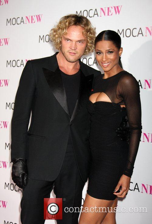 Designer Peter Dundas and singer Ciara MOCA NEW...