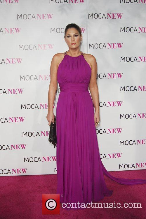 Daisy Fuentes arrives at the MOCA New 30th...