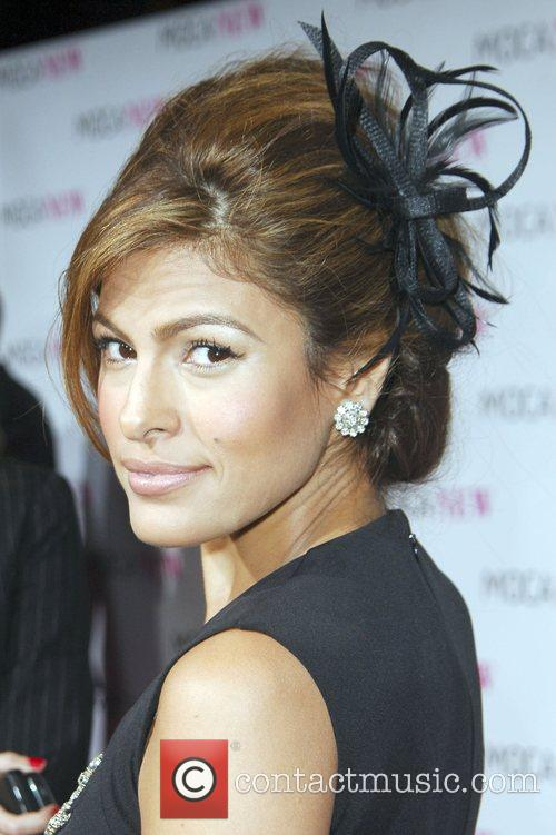 Eva Mendes arrives at the MOCA New 30th...