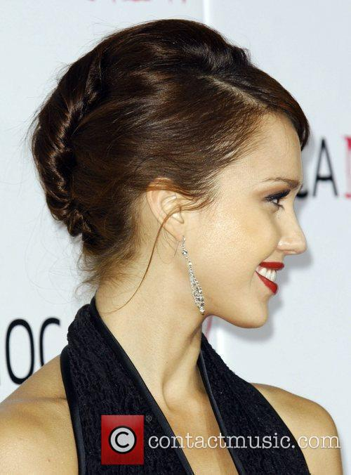 Jessica Alba arrives at the MOCA New 30th...