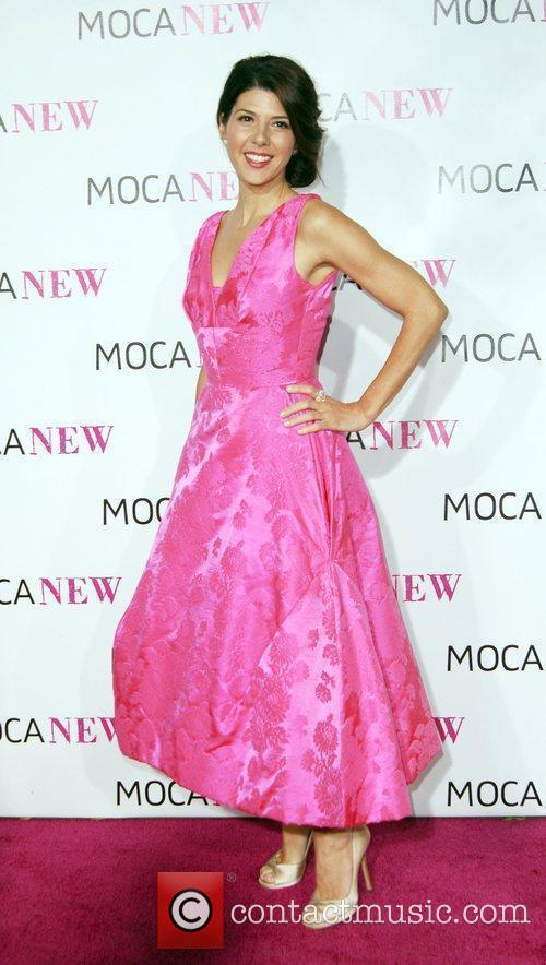 Marisa Tomei arrives at the MOCA New 30th...