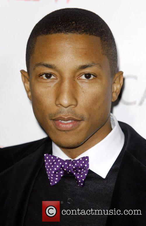 Pharrell Williams arrives at the MOCA New 30th...