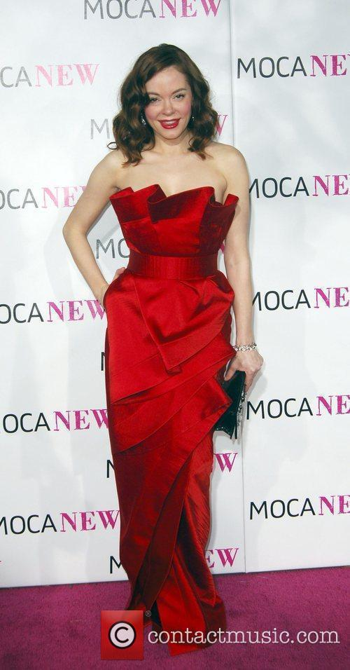 Rose McGowan arrives at the MOCA New 30th...