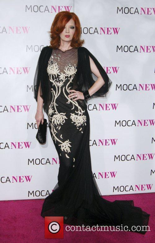 Shirley Manson arrives at the MOCA New 30th...