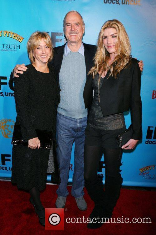 John Cleese and his family Monty Python 40th...