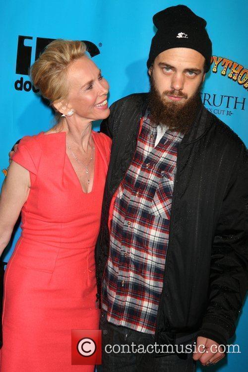 Trudie Styler and Jake Sumner 1