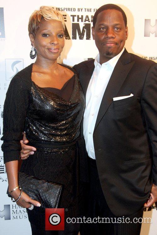 Mary J Blige and Martin Kendu Isaacs 2