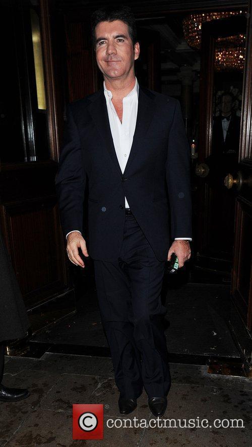 Simon Cowell The Morgan Awards 2009 - Departures...