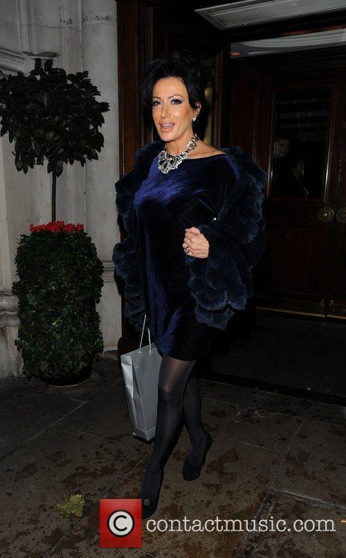 Nancy Dell'Olio The Morgan Awards 2009 - Departures...