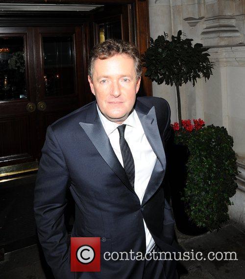 Piers Morgan The Morgan Awards 2009 - Departures...