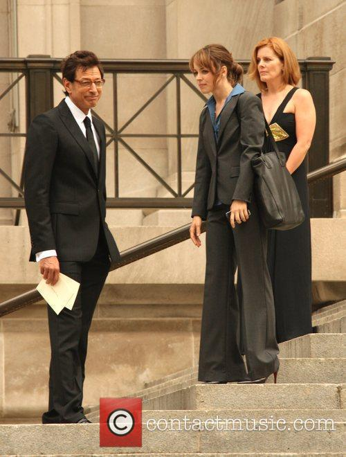 Jeff Goldblum and Rachel Mcadams 6