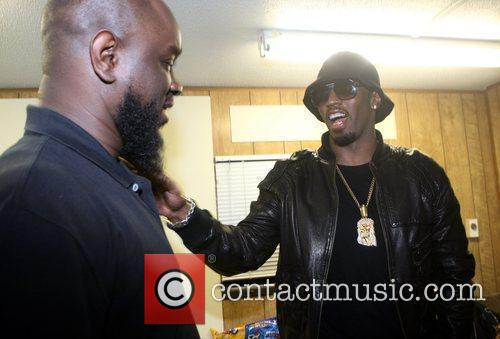 Abdul Rachman and Sean 'P. Diddy' Combs Mos...