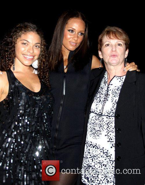 Anetta Keys, Alicia Keys and Terri Augello US...