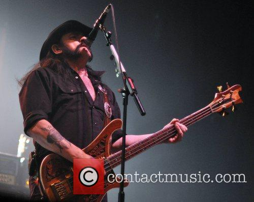 Motorhead performing at the Olympia Theatre