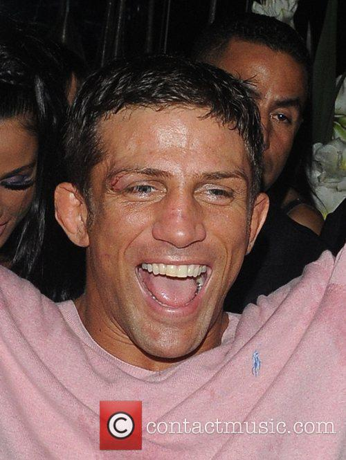 Alex Reid Leaving Movida Through The Back Door Where He Celebrated His Cage-fighting Victory Earlier In The Evening. 4
