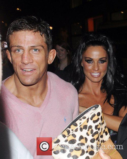 Katie Price and Alex Reid Leaving Movida Through The Back Door Where They Celebrated His Cage-fighting Victory Earlier In The Evening. 2