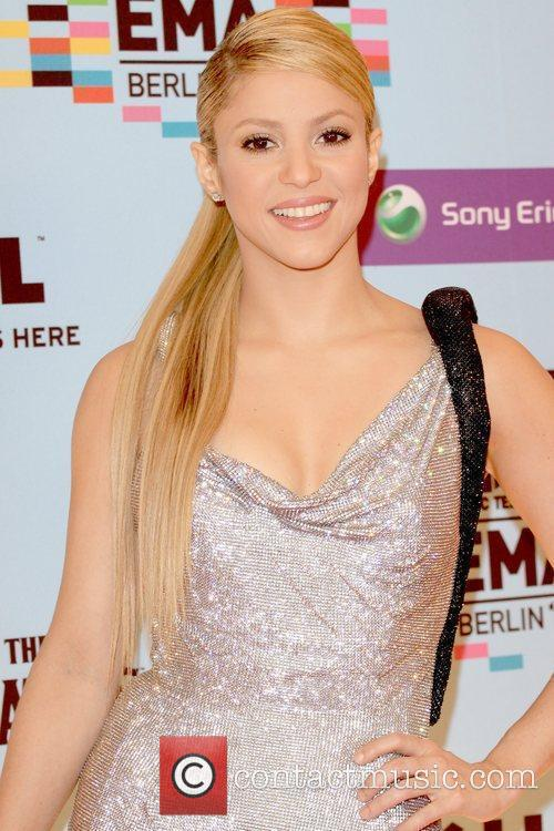 Shakira, Mtv and Mtv european music awards 3
