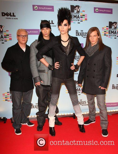 Tokio Hotel, Mtv and Mtv european music awards 2
