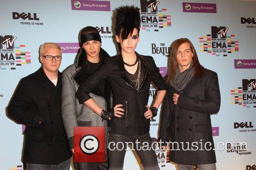 Tokio Hotel, Mtv and Mtv european music awards 1