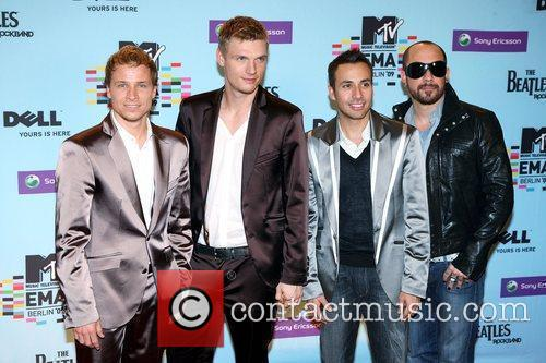 Brian Littrell, Howie Dorough, Mtv and Nick Carter 3