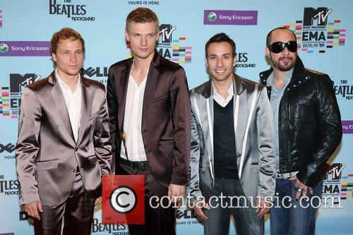 Brian Littrell, Howie Dorough, Mtv and Nick Carter 4