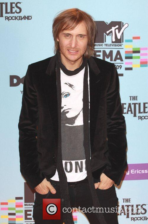 David Guetta, MTV, MTV European Music Awards