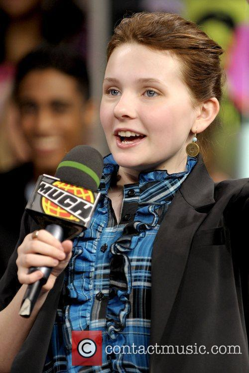 Abigail Breslin appearing on the Canadian TV show...