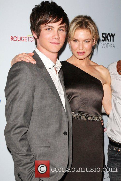 Logan Lerman and Renee Zellweger 6