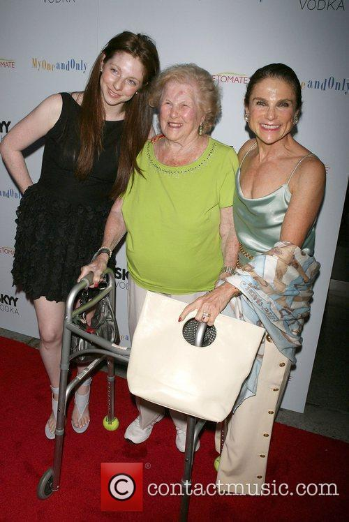 Tovah Feldshuh with her family Premiere of 'My...