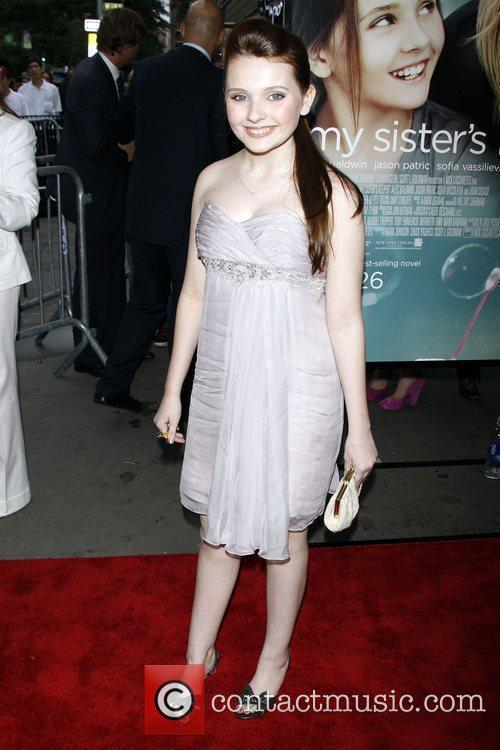 Abigail Breslin The World premiere of 'My Sister's...