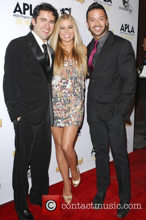 John Lloyd Young and Carmen Electra 5