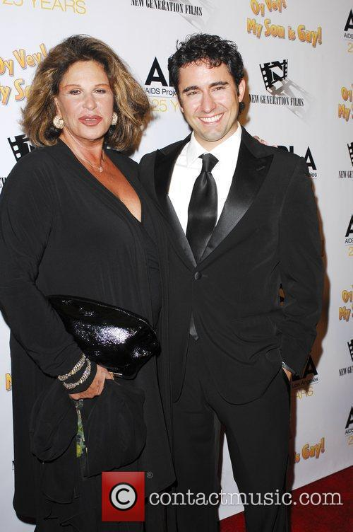 Lainie Kazan and John Lloyd Young 4