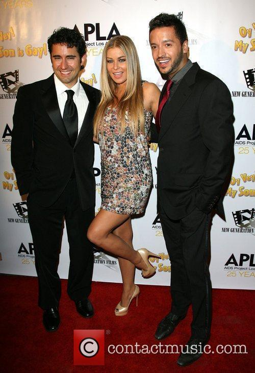 John Lloyd Young and Carmen Electra 1
