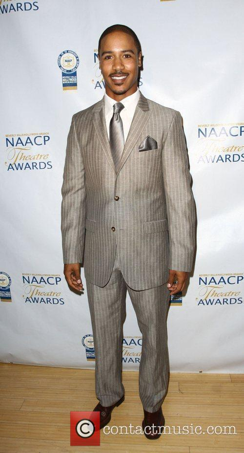Brian White NAACP Theatre Awards Press Conference held...