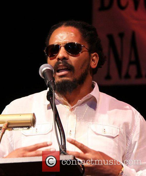 Rohan Marley NAACP Theatre Awards Press Conference held...