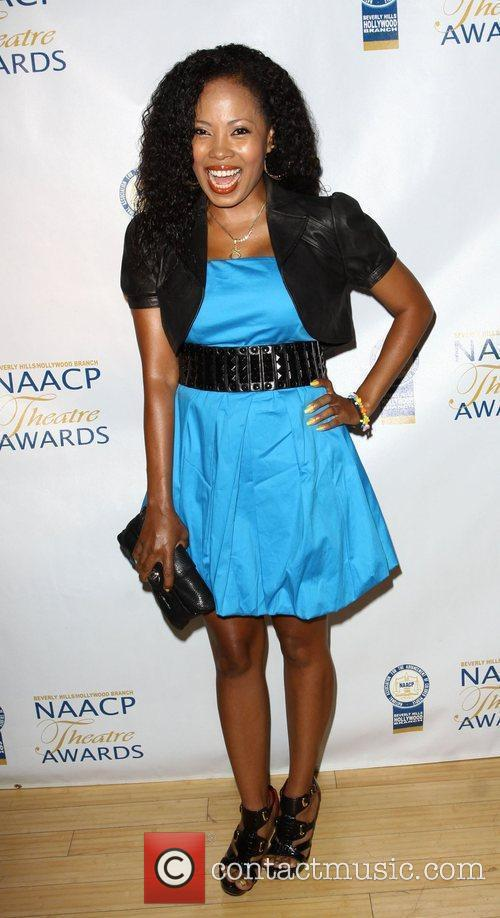 Suzette Tomlinson NAACP Theatre Awards Press Conference held...