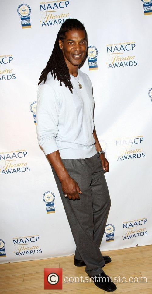 William Romeo aka MAYHEM NAACP Theatre Awards Press...