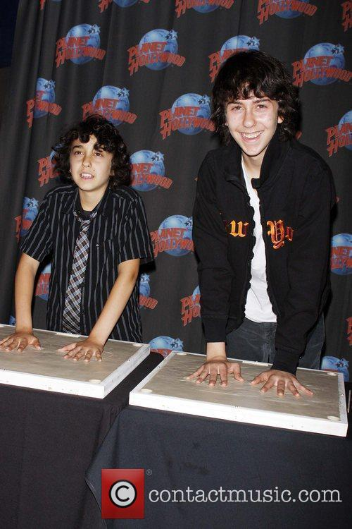 Alex Wolff and Nat Wolff of The Naked...