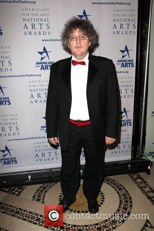 Attending the 'American for the Arts' awards held...