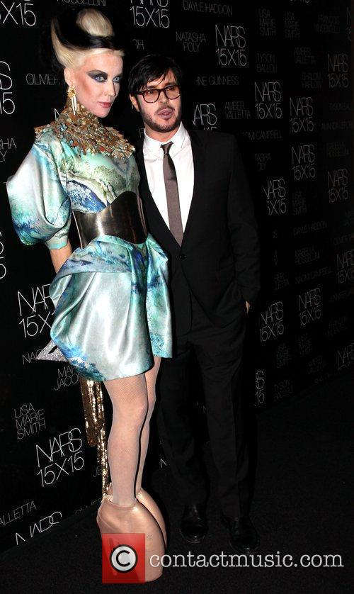 Daphne Guinness and Francois Nars  Launch of...